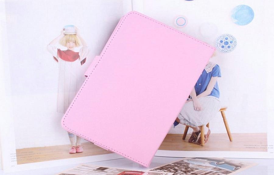 "Univerzální kožené pouzdro - barevné Růžová 7"" tablet + DOPRAVA ZDARMA"
